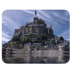 Mont Saint Michel France Normandy Double Sided Flano Blanket (medium)