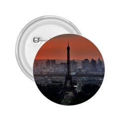 Paris France French Eiffel Tower 2 25  Buttons
