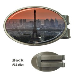 Paris France French Eiffel Tower Money Clips (oval)