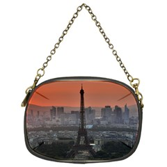 Paris France French Eiffel Tower Chain Purses (one Side)