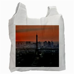Paris France French Eiffel Tower Recycle Bag (two Side)