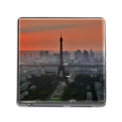 Paris France French Eiffel Tower Memory Card Reader (square)