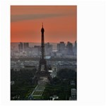 Paris France French Eiffel Tower Large Garden Flag (Two Sides) Back