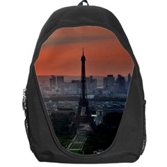 Paris France French Eiffel Tower Backpack Bag