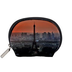Paris France French Eiffel Tower Accessory Pouches (small)