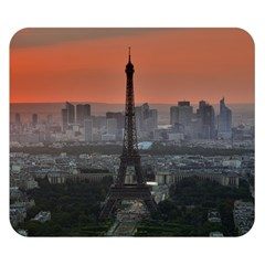 Paris France French Eiffel Tower Double Sided Flano Blanket (small)