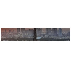 Paris France French Eiffel Tower Flano Scarf (large)