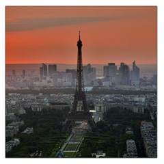 Paris France French Eiffel Tower Large Satin Scarf (square)