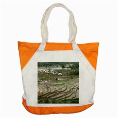 Rice Fields Terraced Terrace Accent Tote Bag