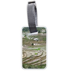 Rice Fields Terraced Terrace Luggage Tags (two Sides)