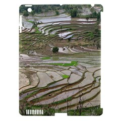 Rice Fields Terraced Terrace Apple Ipad 3/4 Hardshell Case (compatible With Smart Cover)