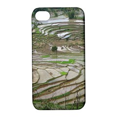Rice Fields Terraced Terrace Apple Iphone 4/4s Hardshell Case With Stand