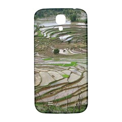 Rice Fields Terraced Terrace Samsung Galaxy S4 I9500/i9505  Hardshell Back Case