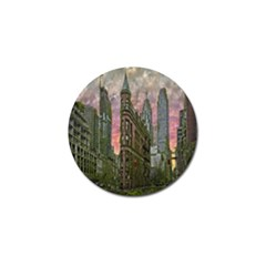 Flat Iron Building Toronto Ontario Golf Ball Marker (10 Pack)