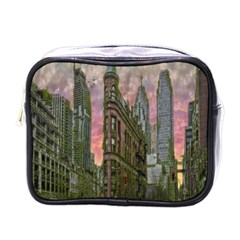Flat Iron Building Toronto Ontario Mini Toiletries Bags