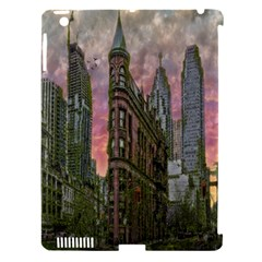 Flat Iron Building Toronto Ontario Apple Ipad 3/4 Hardshell Case (compatible With Smart Cover)