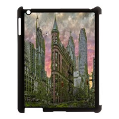 Flat Iron Building Toronto Ontario Apple Ipad 3/4 Case (black)