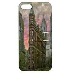 Flat Iron Building Toronto Ontario Apple Iphone 5 Hardshell Case With Stand