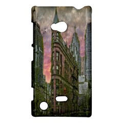 Flat Iron Building Toronto Ontario Nokia Lumia 720
