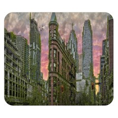 Flat Iron Building Toronto Ontario Double Sided Flano Blanket (small)