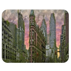 Flat Iron Building Toronto Ontario Double Sided Flano Blanket (medium)