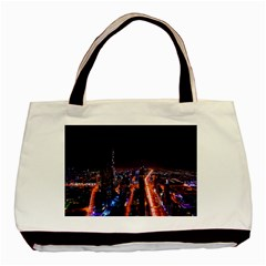Dubai Cityscape Emirates Travel Basic Tote Bag
