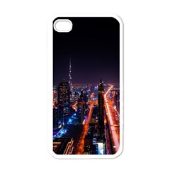 Dubai Cityscape Emirates Travel Apple Iphone 4 Case (white)