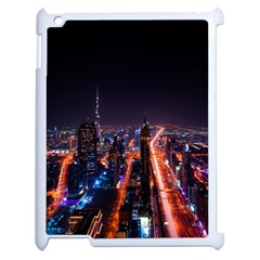 Dubai Cityscape Emirates Travel Apple Ipad 2 Case (white)