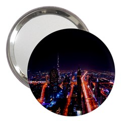 Dubai Cityscape Emirates Travel 3  Handbag Mirrors