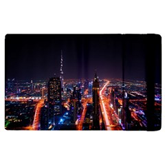 Dubai Cityscape Emirates Travel Apple Ipad 2 Flip Case
