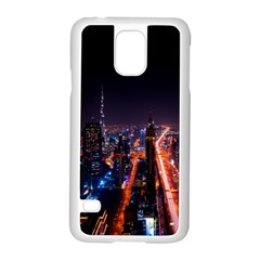 Dubai Cityscape Emirates Travel Samsung Galaxy S5 Case (white)