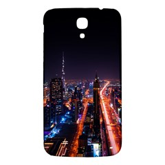 Dubai Cityscape Emirates Travel Samsung Galaxy Mega I9200 Hardshell Back Case