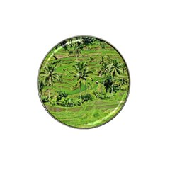Greenery Paddy Fields Rice Crops Hat Clip Ball Marker (10 Pack)