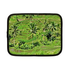 Greenery Paddy Fields Rice Crops Netbook Case (small)