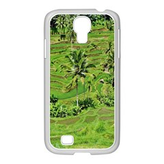 Greenery Paddy Fields Rice Crops Samsung Galaxy S4 I9500/ I9505 Case (white)