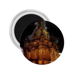 Dresden Frauenkirche Church Saxony 2 25  Magnets