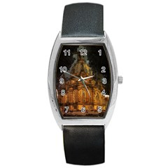 Dresden Frauenkirche Church Saxony Barrel Style Metal Watch