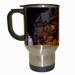 Dresden Frauenkirche Church Saxony Travel Mugs (white)