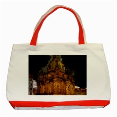 Dresden Frauenkirche Church Saxony Classic Tote Bag (red)