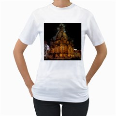 Dresden Frauenkirche Church Saxony Women s T Shirt (white)