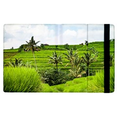 Bali Rice Terraces Landscape Rice Apple Ipad 2 Flip Case