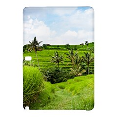 Bali Rice Terraces Landscape Rice Samsung Galaxy Tab Pro 10 1 Hardshell Case
