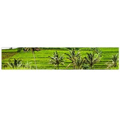 Bali Rice Terraces Landscape Rice Flano Scarf (large)