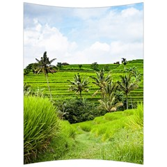Bali Rice Terraces Landscape Rice Back Support Cushion