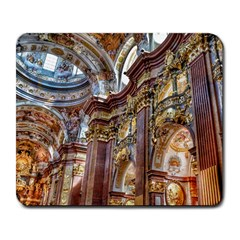 Baroque Church Collegiate Church Large Mousepads