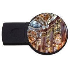 Baroque Church Collegiate Church Usb Flash Drive Round (2 Gb)