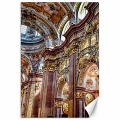 Baroque Church Collegiate Church Canvas 20  X 30
