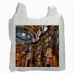 Baroque Church Collegiate Church Recycle Bag (two Side)