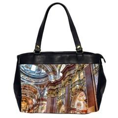 Baroque Church Collegiate Church Office Handbags (2 Sides)