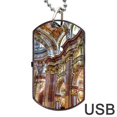 Baroque Church Collegiate Church Dog Tag Usb Flash (two Sides)